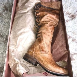 NWT Bed Stu Surry Tall leather boots